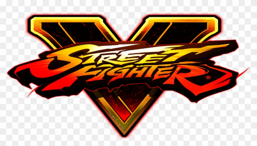 Street Fighter V Logo Png Street Fighter V Logo Vector Clipart 5335944 Pikpng