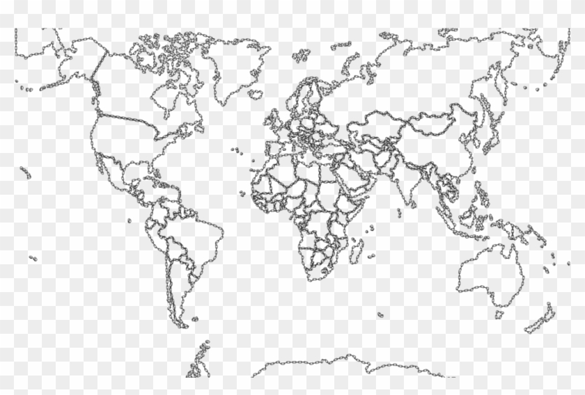 - Remarkable Biome Map Coloring Page With Free Printable - World Map To Fill  Clipart (#5346294) - PikPng