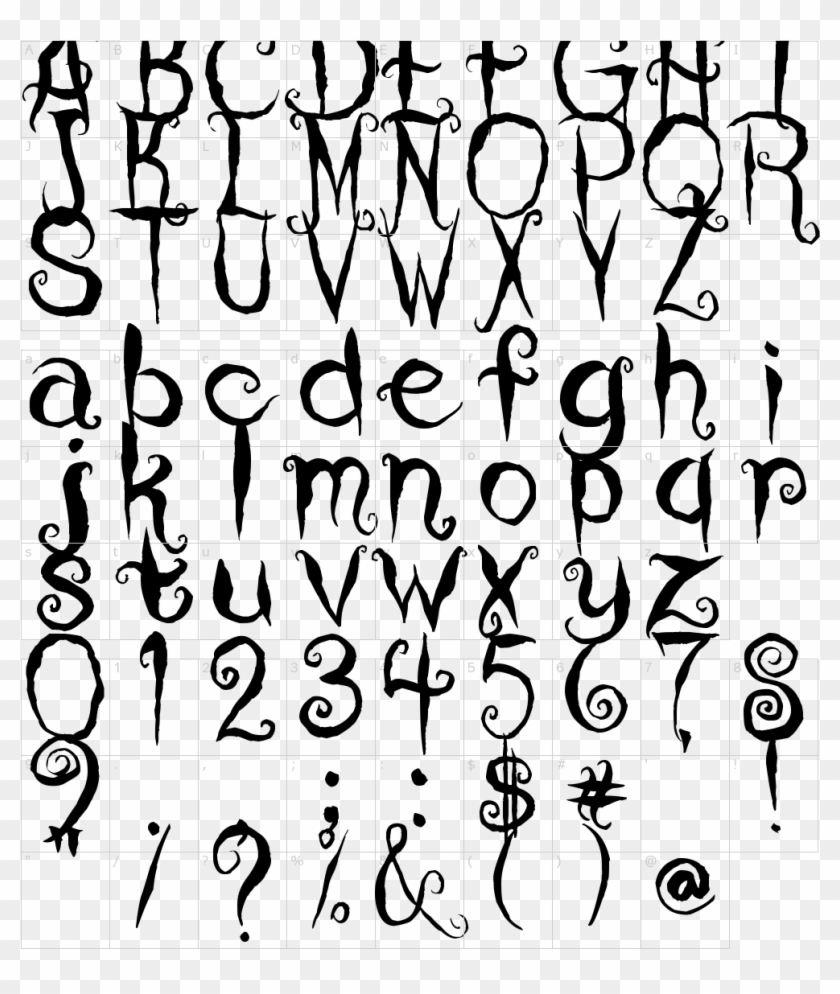 Font Characters Characters Coraline Clipart 5351262 Pikpng
