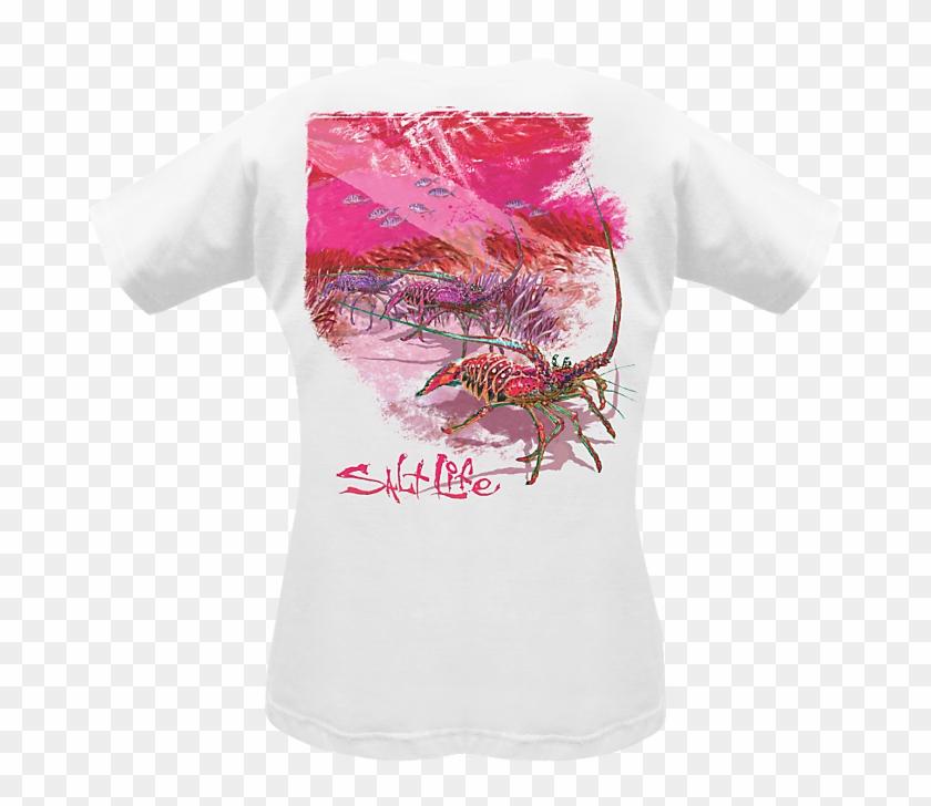 Salt Life Women's Shirt - Salt Life Decals Clipart #5355343