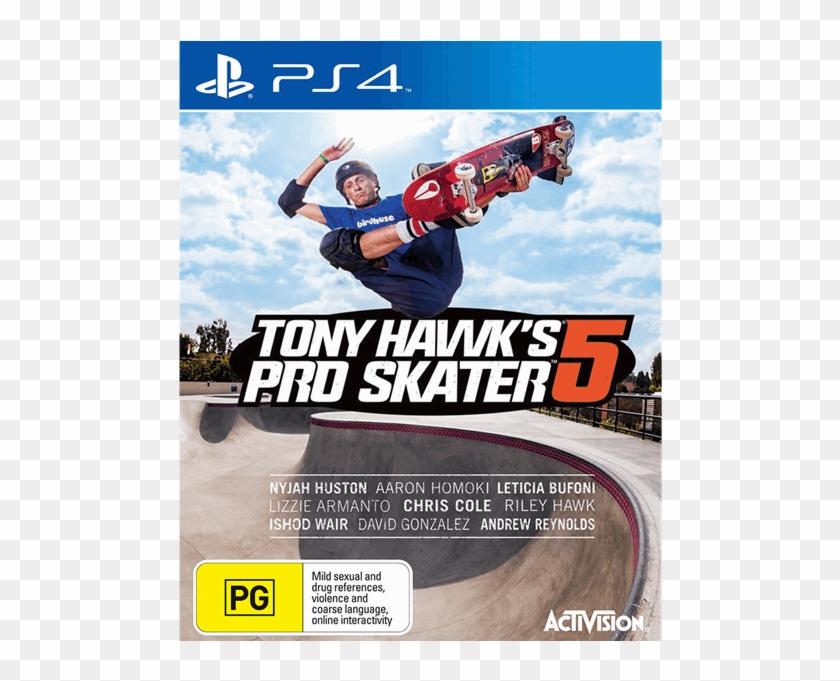 Tony Hawk's Pro Skater 5 - Tony Hawk Pro Skater 5 Xbox One Clipart #5357990