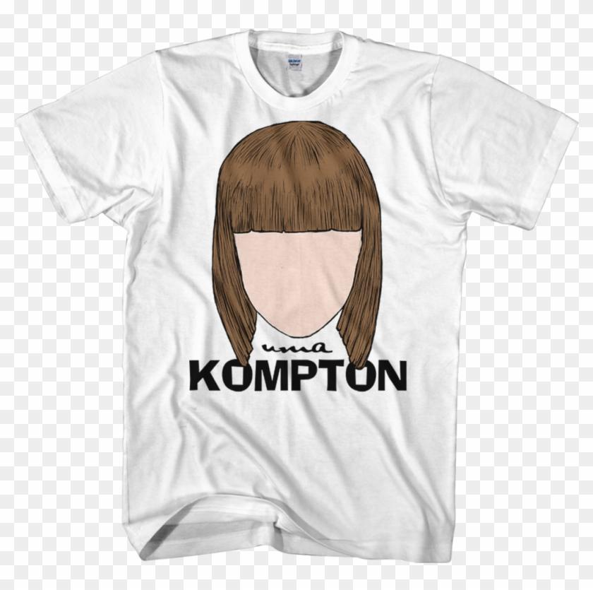 Uma Kompton Faceless Logo T-shirt - Drag Queen T Shirts Clipart #5361124
