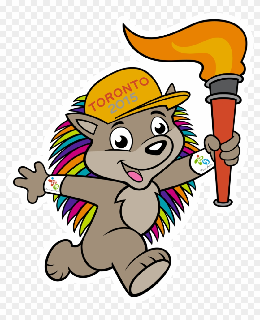 This Site Contains All About Speak Png Amp Speak Transparent - 2015 Pan Am Games Mascot Clipart #5364859