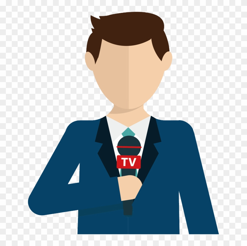 Reporter Png Clipart #5368947