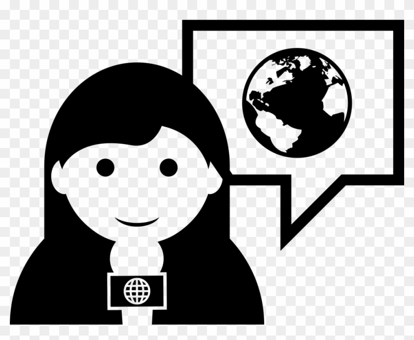 Png File Svg - Reporter Icon Png Clipart #5369013