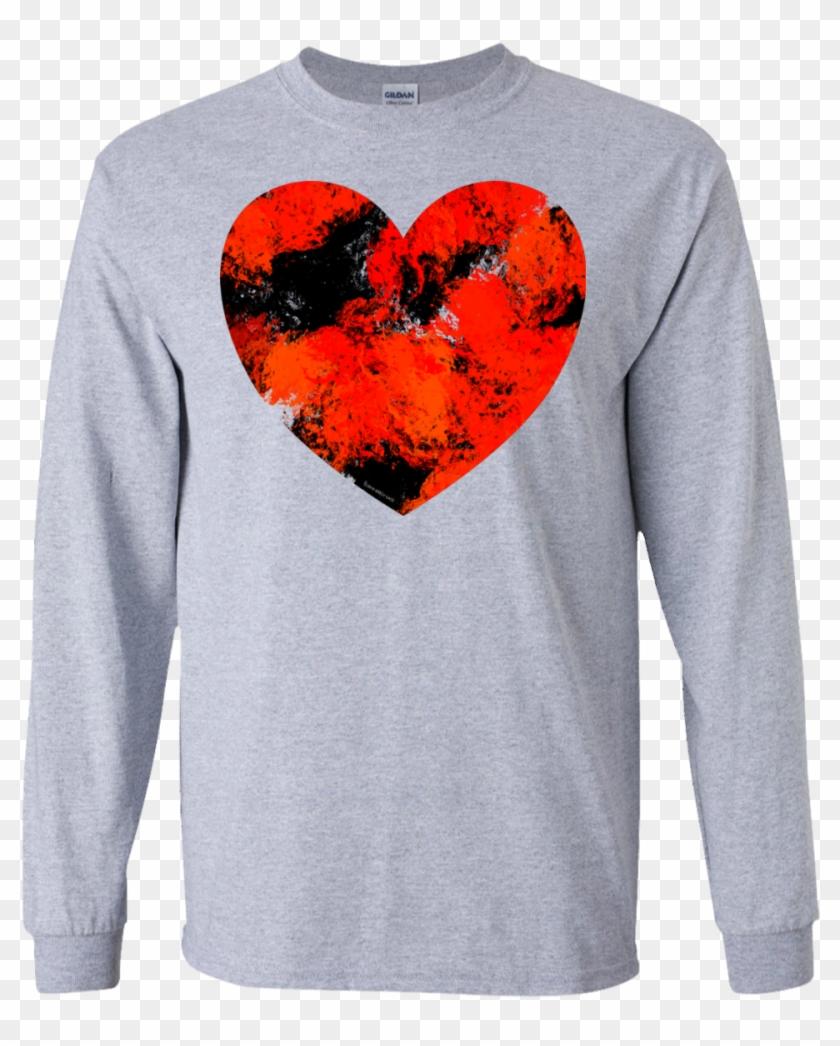 Grunge Heart Adult - T-shirt Clipart #5369859