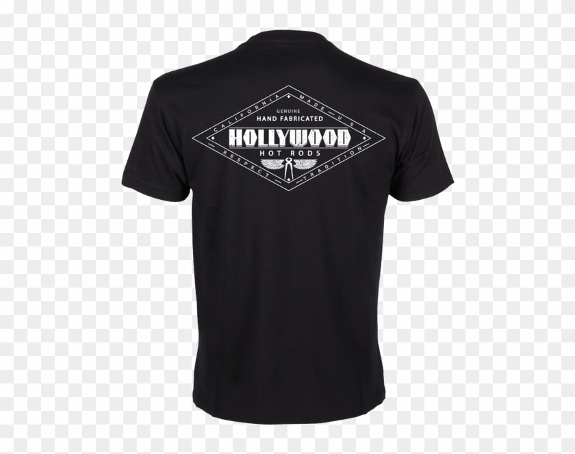 This Official Hollywood Hot Rods T-shirt Features A - National Technical Honor Society Shirt Clipart #5385136