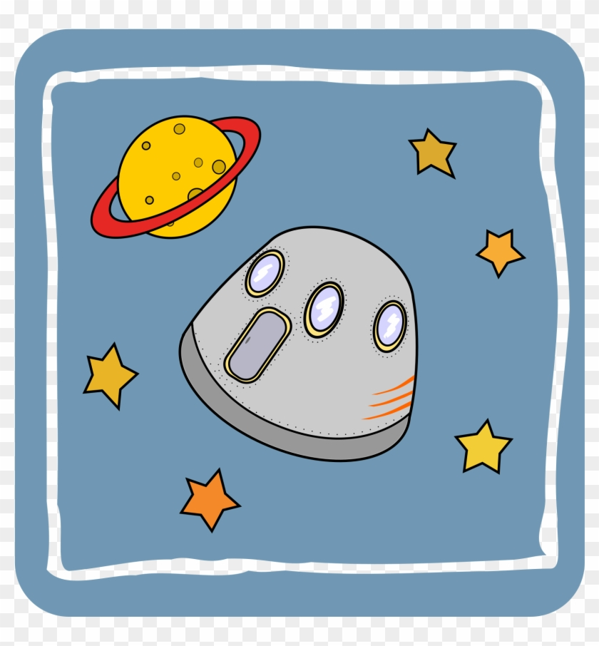 This Free Icons Png Design Of Icon Space Capsule , Clipart #5391107