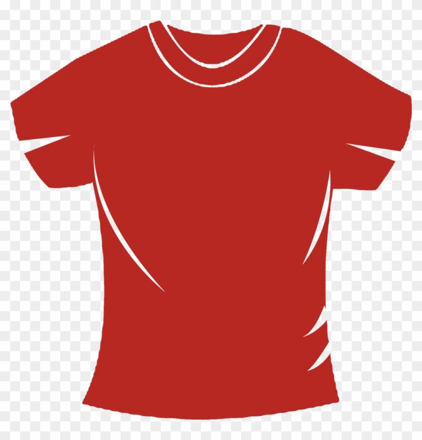 Blank T Shirts Png - Active Shirt Clipart #5394320