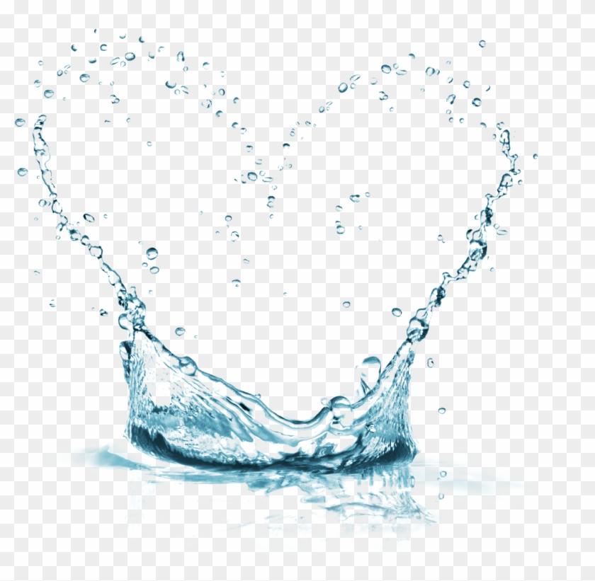 #water #watersticker #naturesticker #rain #rainwater - Water Splash Overlay Png Clipart #5396489