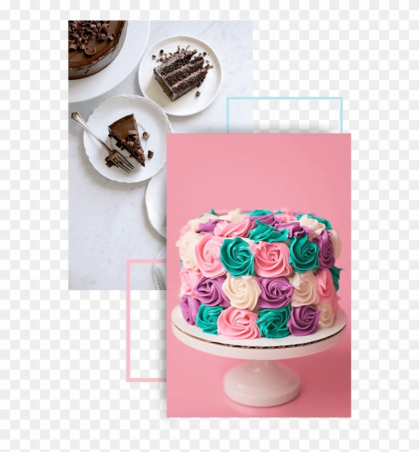 We Are Here To Make All Your Egg-free Cakes Fantasies - Chocolate Cake Top View Photography Clipart #5397605