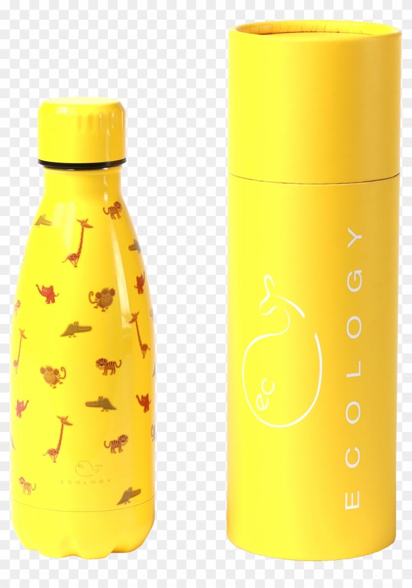 Kids Jungle Animal Reusable Metal School Hot Cold Drink Bottle Clipart 5399175 Pikpng