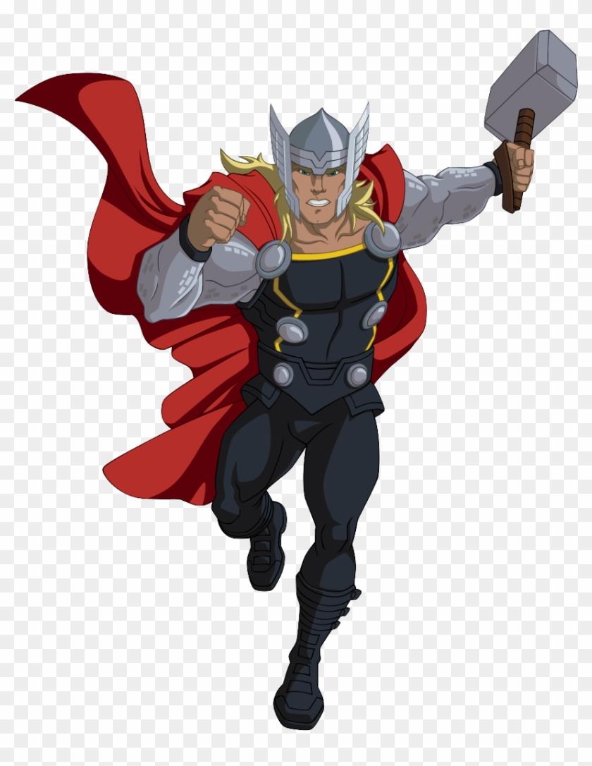 Vingadores Desenho Thor Png Marvel Avengers Assemble Thor