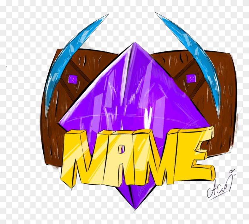 Minecraft Server Logo Logos Para Server De Minecraft Clipart