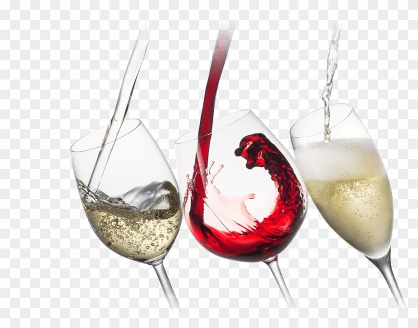 Our Wines - Red Wine White Wine Sparkling Wine, HD Png Download #543048
