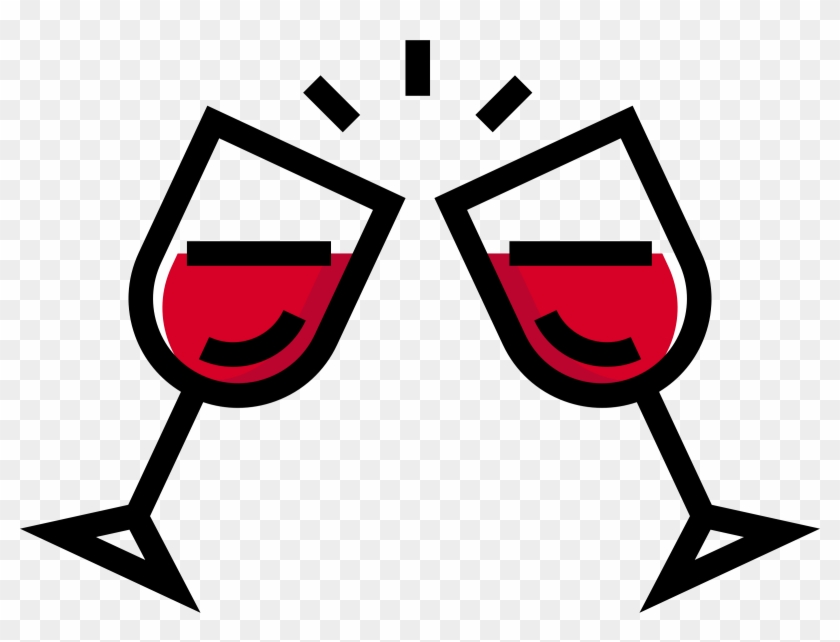 Wine - Red Wine Clip Art - Png Download #543233