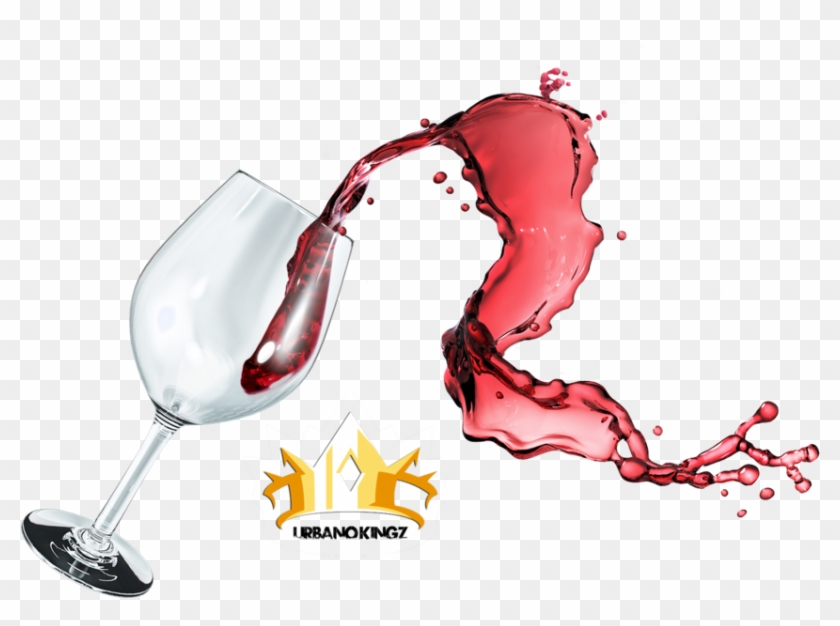 Vector Transparent Stock Wine Splash Png - Glass Wine Splash Transparent Clipart #543347