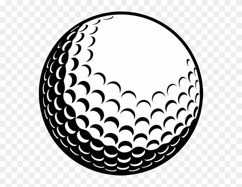 Golf Ball Png - Clip Art Golf Ball Vector Transparent Png #543947