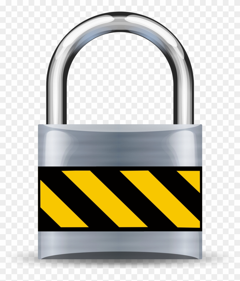 Padlock - Secure Lock Icon Clipart #544883