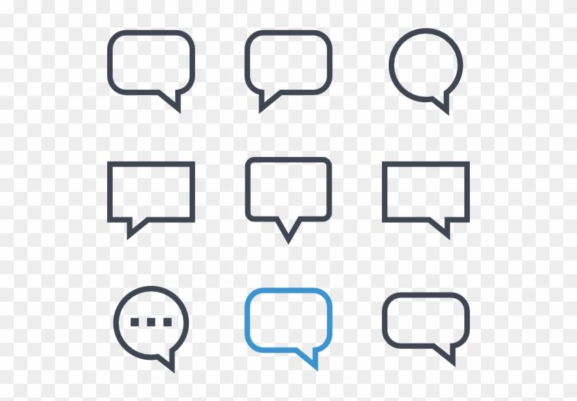Text Message - Text Message Bubble Png Clipart #546185