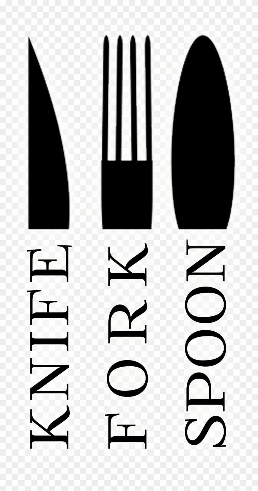 Knife Fork & Spoon - Knife Fork Spoon Clipart #547044