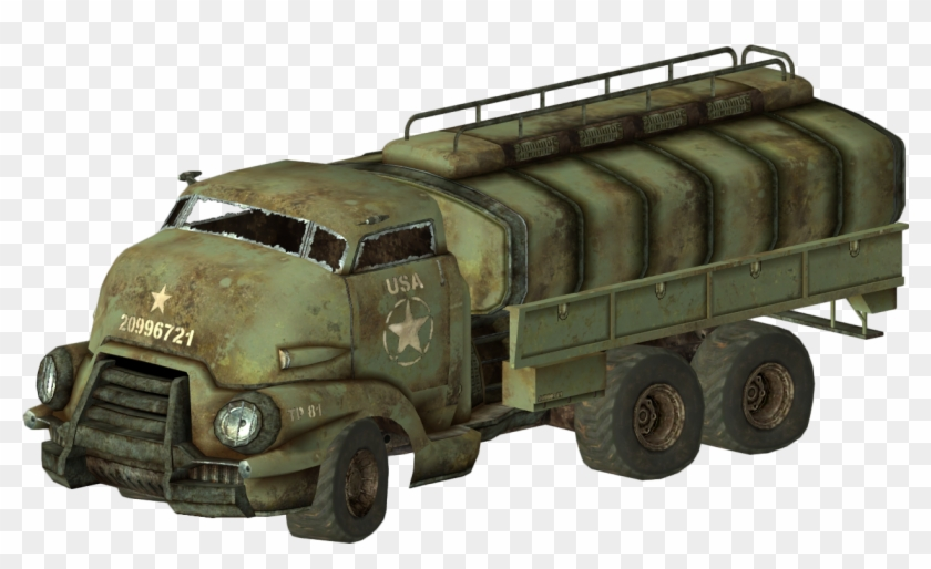 Army Truck Png Fallout 4 Coche Clipart 547328 Pikpng