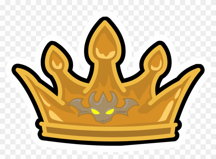 Crown Of The Dragon King Pin - Crown Of The King Clipart #549404