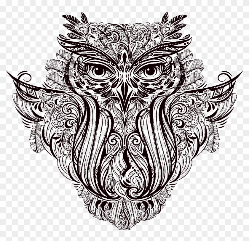 Sticker Boheme Hibou Ambiance Sticker Col Inc Sand Vector Graphics Clipart 549462 Pikpng