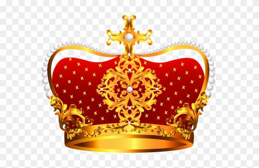King Crown Free Png Image - Red Crown Png Clipart #549557
