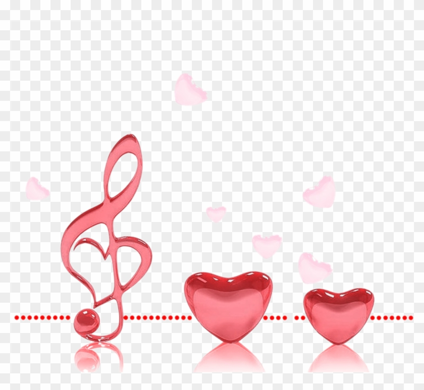 3d Wallpaper Love Kiss - You Are The Music In My Heart Clipart #5404170