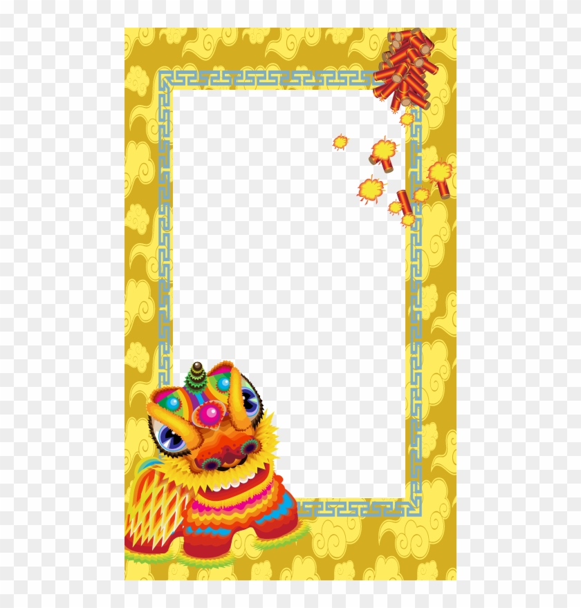 Chinese New Year Frame Clipart #5405917