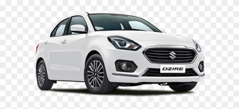 Maruti Suzuki Dzire - Swift Dzire White Colour, HD Png Download #5409747