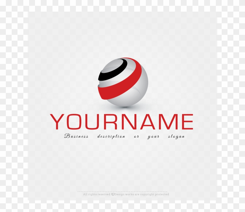 Create A 3d Globe Label Logo Template With Our Free - Graphic Design Clipart #5415713