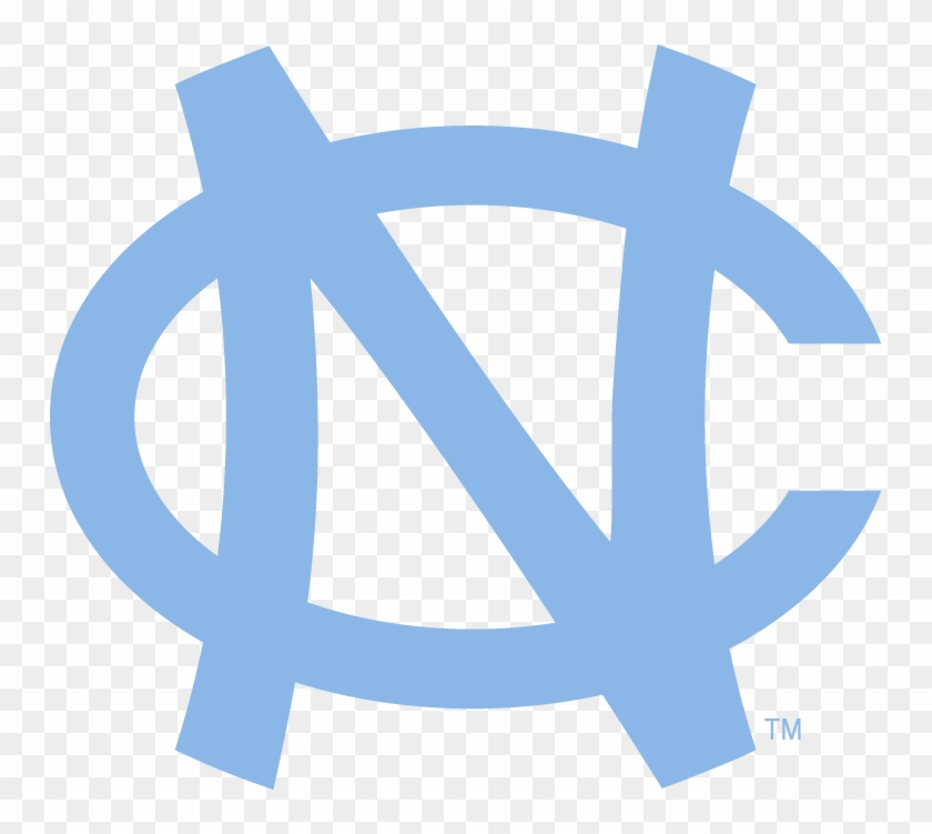 North Carolina Tar Heels Logo - North Carolina Symbol Drawings Clipart #5416933