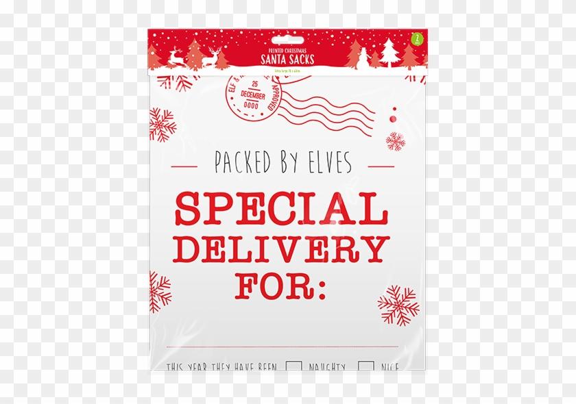 Christmas Printed Santa Sacks - Love Ny More Than Ever Clipart #5421572