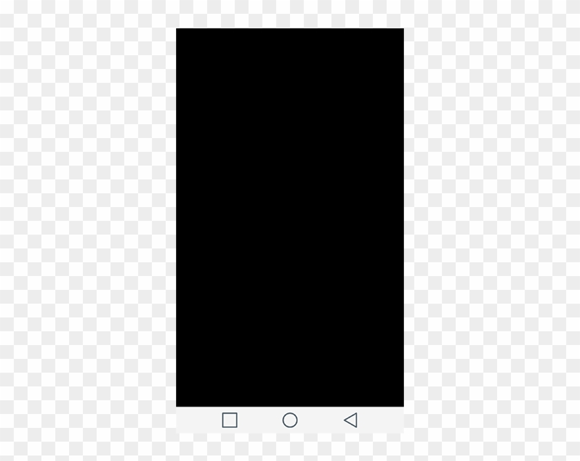 Screen Saver Appears As A Black Screen To Ease Your - Smartphone Clipart #5428725