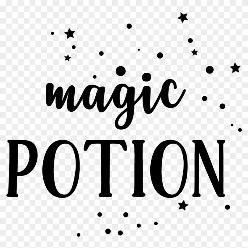 Add A Little Magic To Your Day By Downloading These - Calligraphy Clipart #5448804