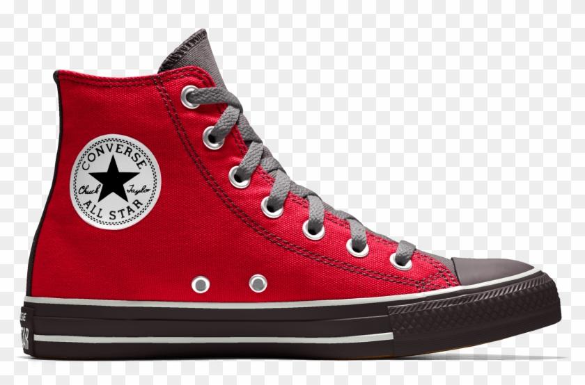 Converse Custom Chuck Taylor All Star High Top Shoe - Converse All Star Clipart #5450350