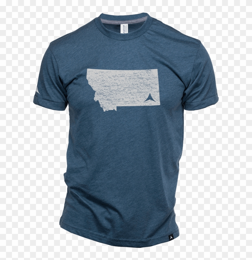 Aspinwall Glacier A Montana T Shirt Riverstone 4 - Active Shirt Clipart #5454533