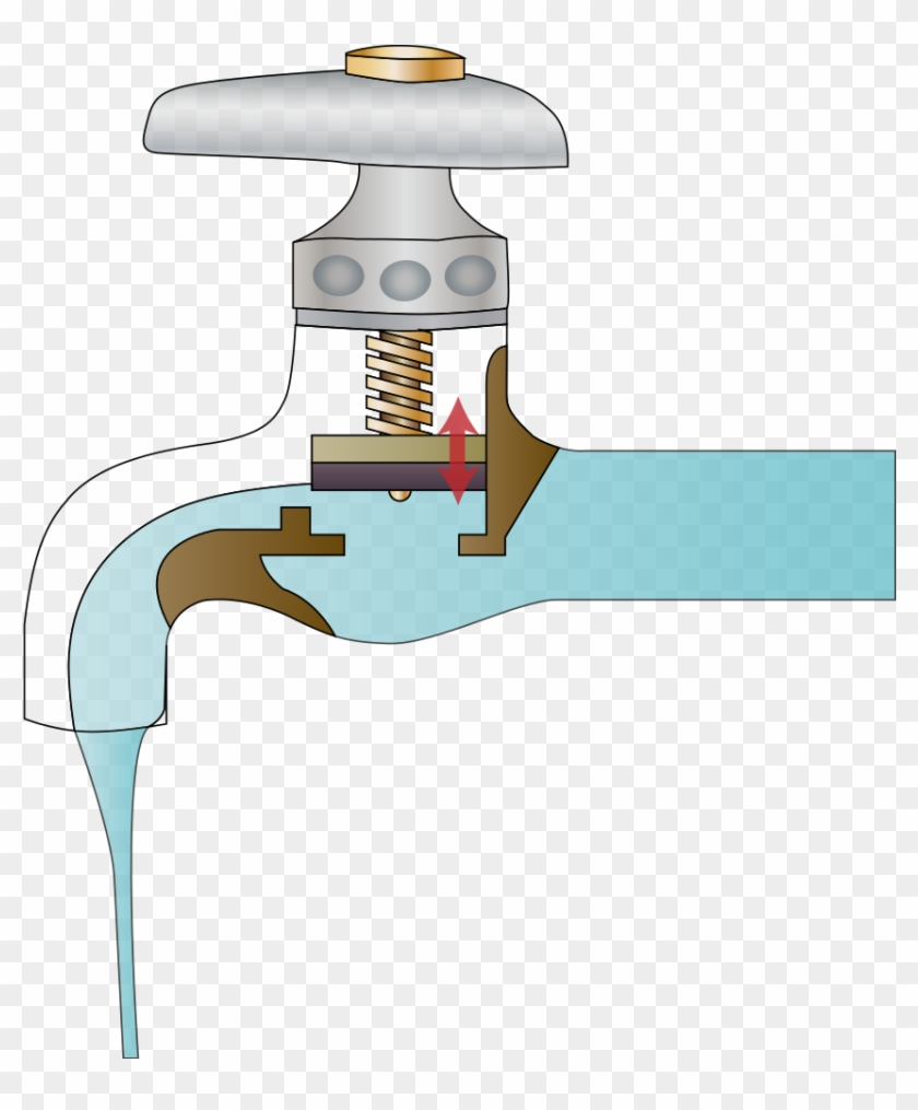 File - Tap - Svg - Does A Water Tap Work Clipart #5462311