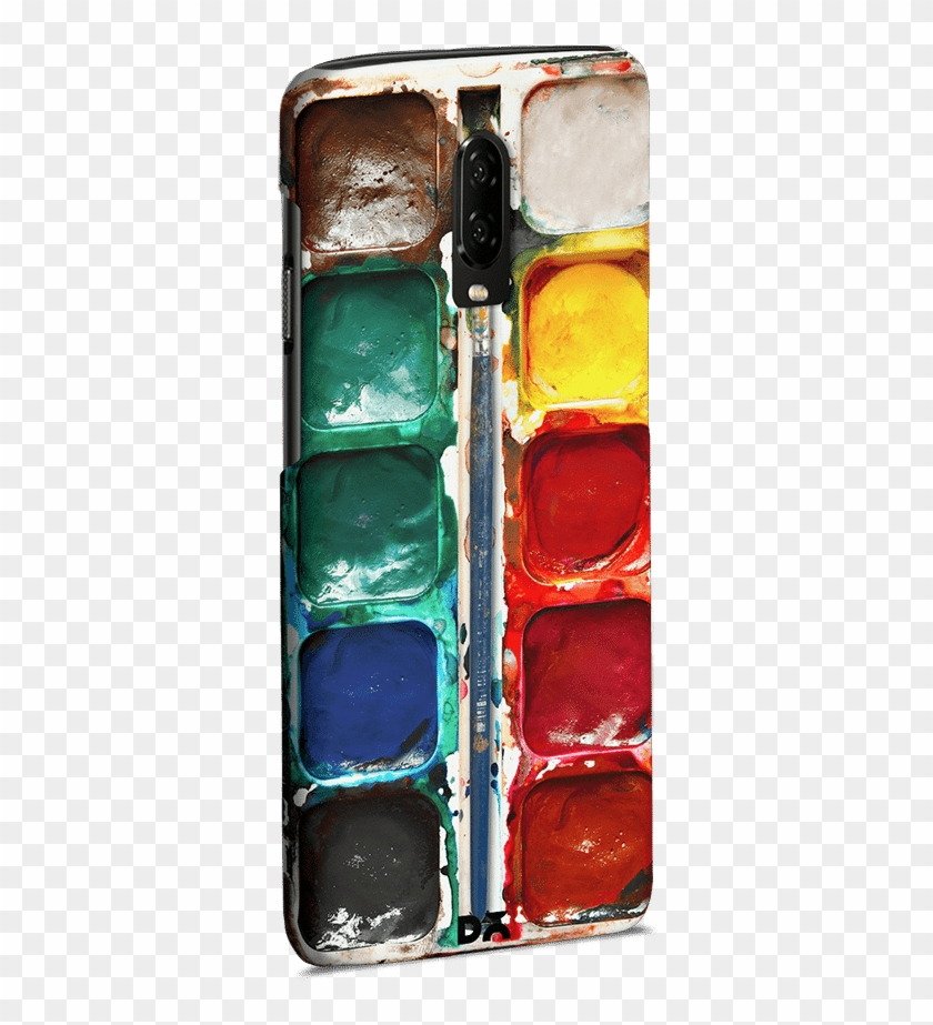 Dailyobjects Water Color Palette Case Cover For Oneplus - Mobile Phone Clipart #5472296