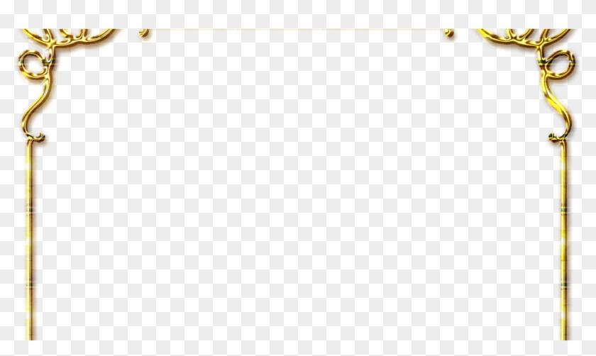 Frames Png Douradas Com Rosa Vermelhas - Page Border Designs Flowers Clipart #5476482