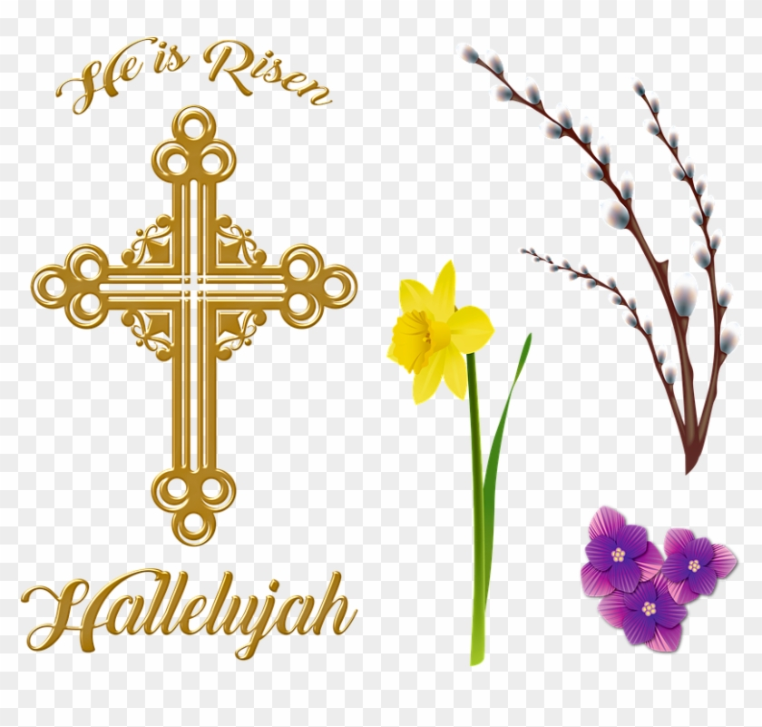 religious easter clipart (#5478945) - pikpng  pikpng