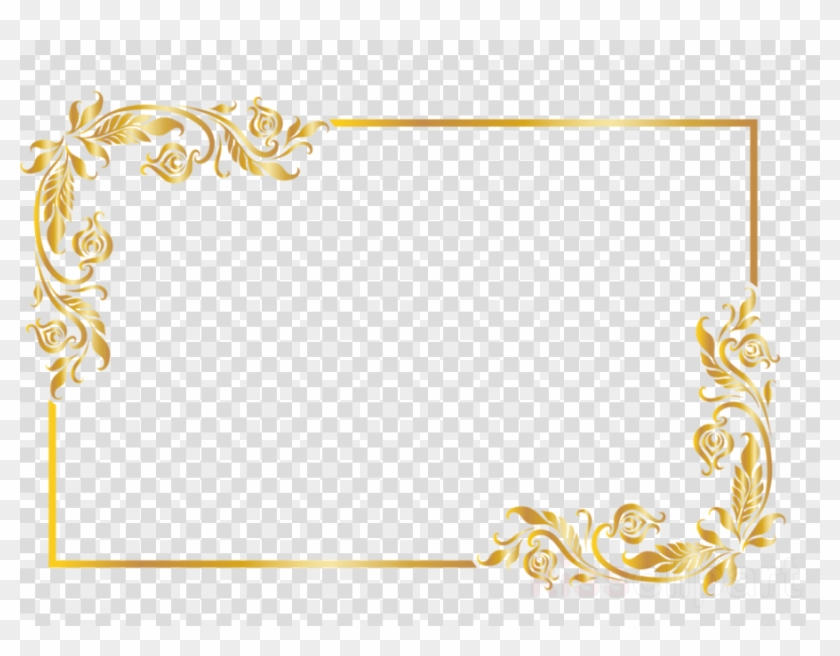 Yellow, Text, Line, Transparent Png Image & Clipart - Wedding Anniversary Frame Png #5486329