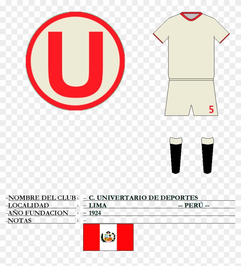 Universitario De - Club Universitario De Deportes Clipart #5487693