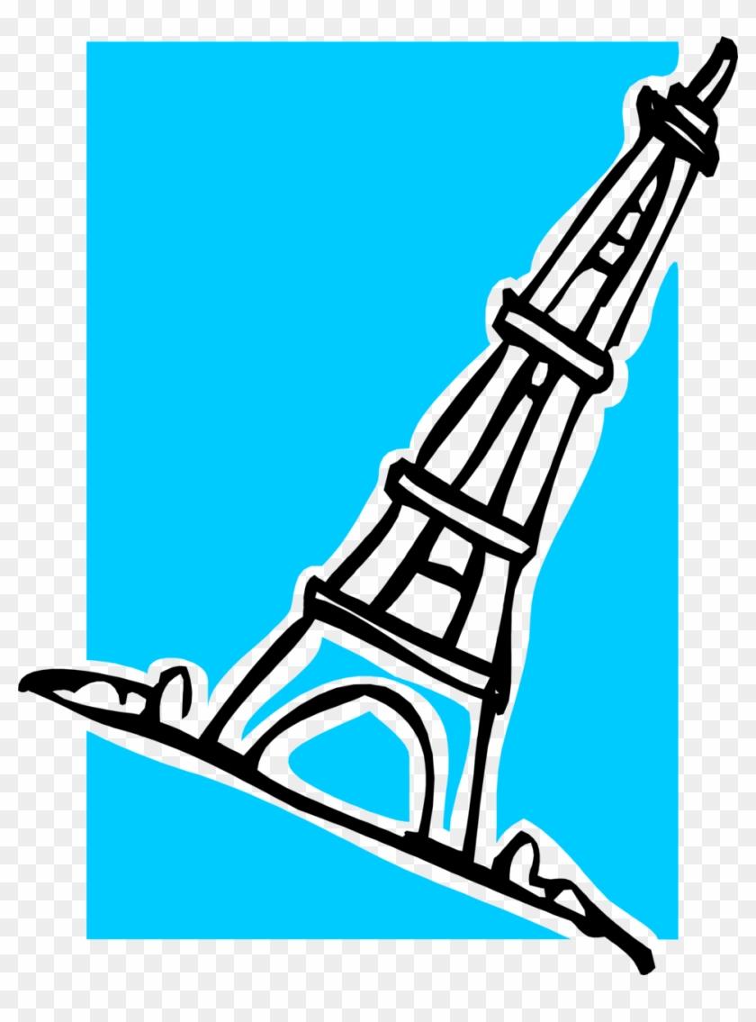 Eiffel Tower Free Stock Photo Illustration Of The Eiffel - Eiffel Tower Clipart #550558