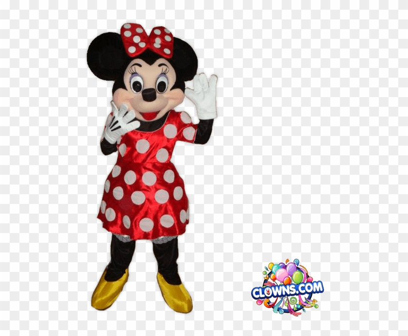 Minnie Mouse Party Characters, Ny - Minnie Mouse Costume Character For Birthday Party Clipart #550749