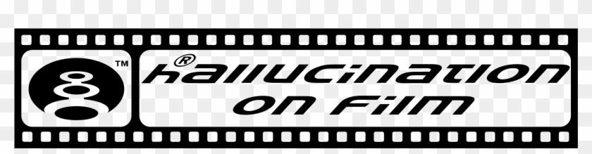 Hallucination On Film Logo Png Transparent - Strip Film Png Clipart #551017