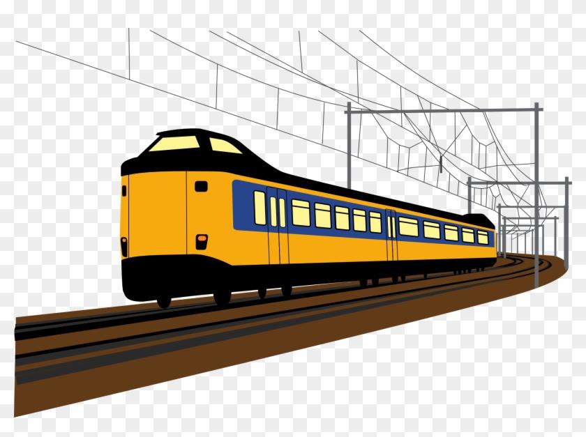 Clip Art Dutch Train Clipartist Rail Transport Clipart Png Download 552214 Pikpng