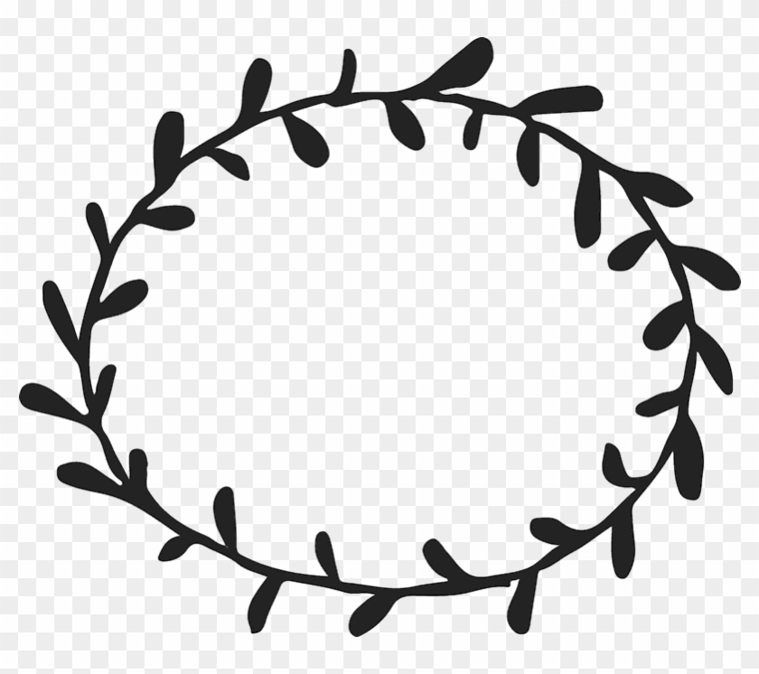 Wreath Clipart Circle - Simple Border Designs Circle - Png Download #554710